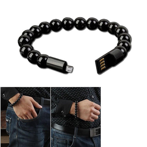 Fast USB Charger Cable Jewelry For Samsung or iPhone