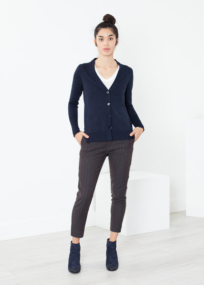 Square Cardigan Casual Top