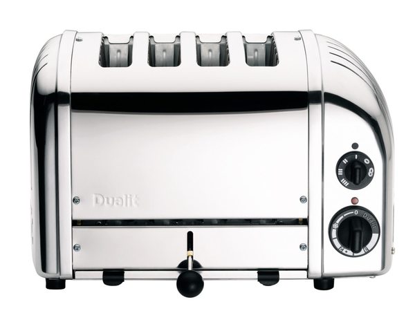 Toaster CLASSIC Edelstahl, 4 Schlitze, Dualit - Kochtail
