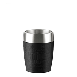 TRAVEL CUP Thermobecher 0,2L schwarz, EMSA - Kochtail