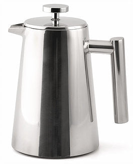 0,35L Pressfilterkanne/French Press doppelwandig, Weis - Kochtail