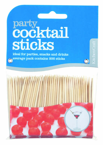 Cocktail Sticks / Cocktailstäbchen, KitchenCraft - Kochtail