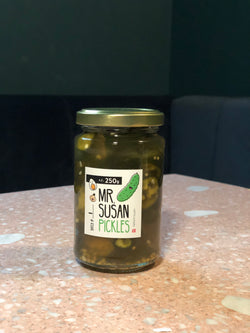 Mr. Susan Bourbon Pickled Jalapeño - 250g     °