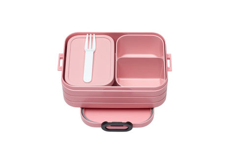 Bento Lunchbox Take a Break Midi nordic pink