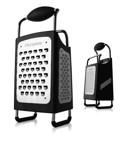 Microplane 4 Side Box Grater, Microplane - Kochtail