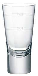 Shot Glass 2cl/4cl, Bormiolo - Kochtail