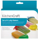Eislolliformen Set 4-tlg., KitchenCraft - Kochtail