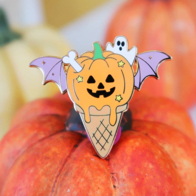 Halloween Ice Cream Pin