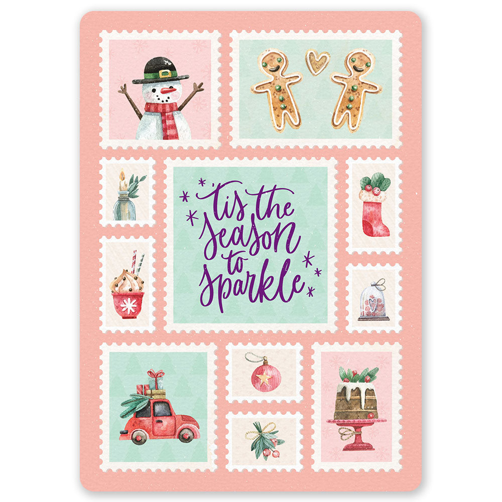 Christmas Season To Sparkle Postcard