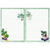 A5 Crazy Plant Lady Notepad - Double Sided
