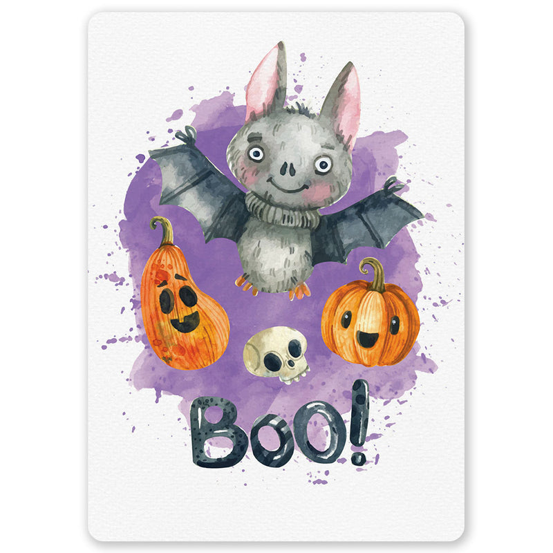 Halloween Bat Postcard