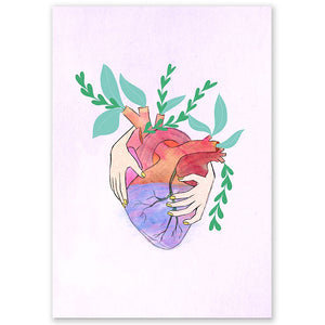 Growing Heart Postcard
