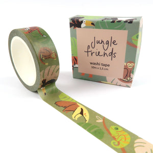 Jungle Animals Washi Tape - Little Lefty Lou