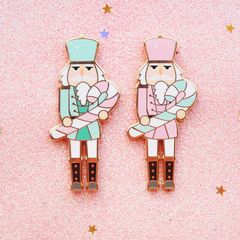 - Minor Flawed - Christmas Nutcracker Pin