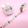 Books Washi Tape