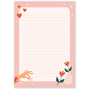 A5 Love Notepad - Double Sided