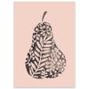 Pear Postcard - Little Lefty Lou