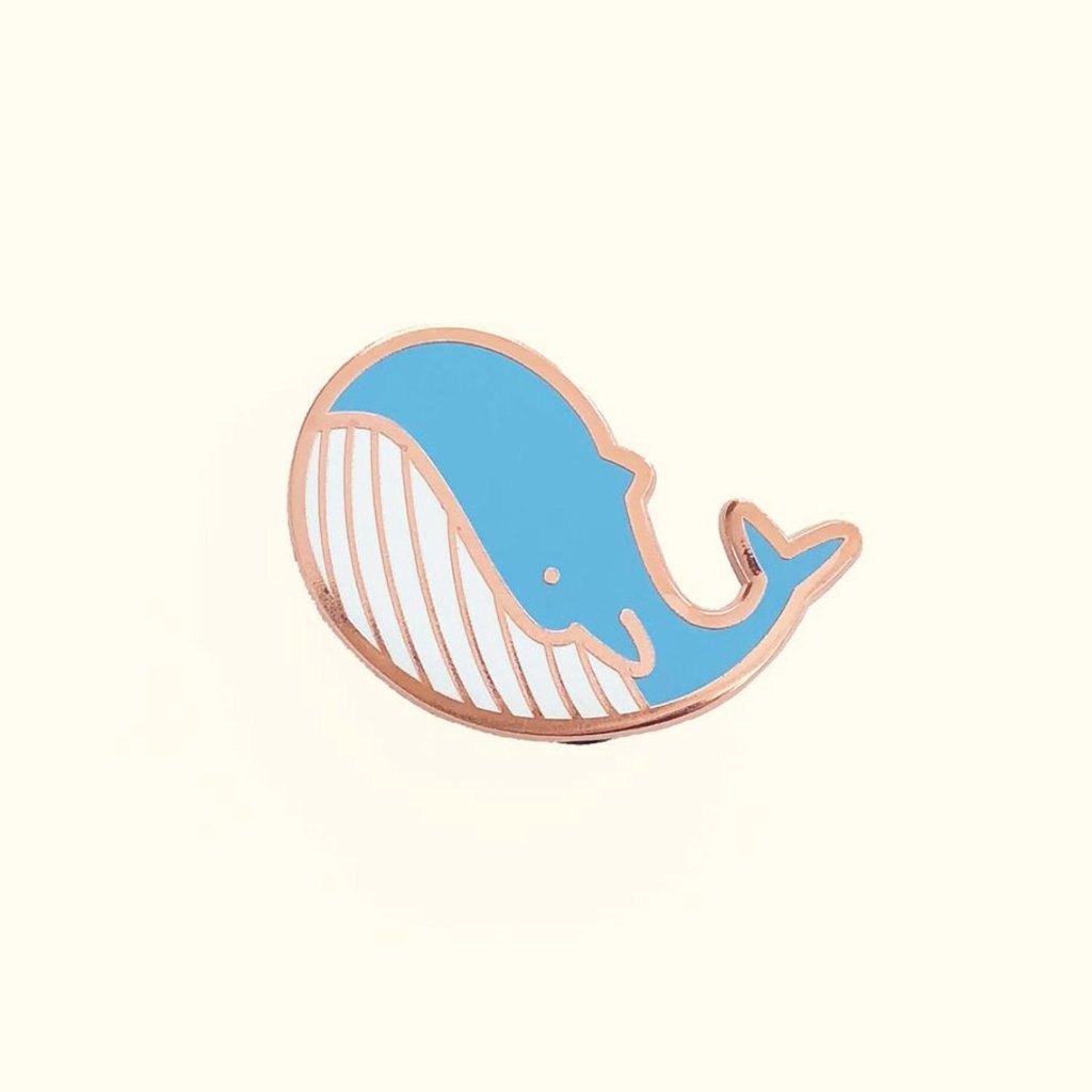 Whale Pin - Little Lefty Lou