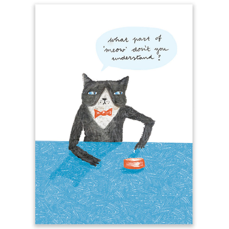 Sassy Cat Postcard - Little Lefty Lou