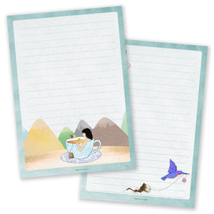 A5 Tea-riffic Notepad - Double Sided