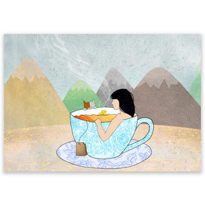 Tea-riffic Postcard