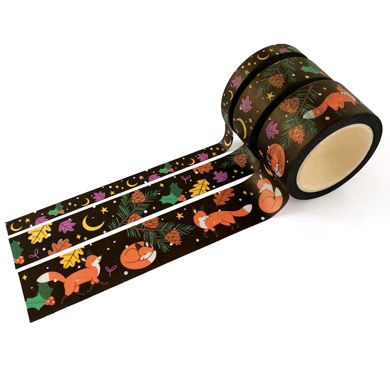 Fox in Winter Washi Tape Set