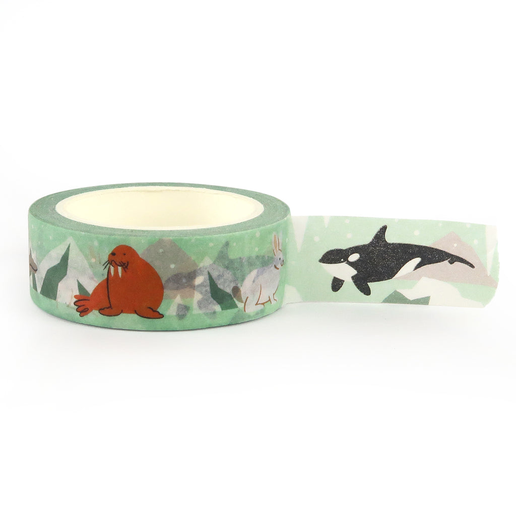 Arctic Animals Washi Tape - Little Lefty Lou