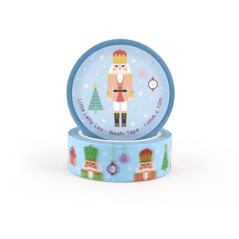 Nutcracker Christmas Washi Tape - Little Lefty Lou