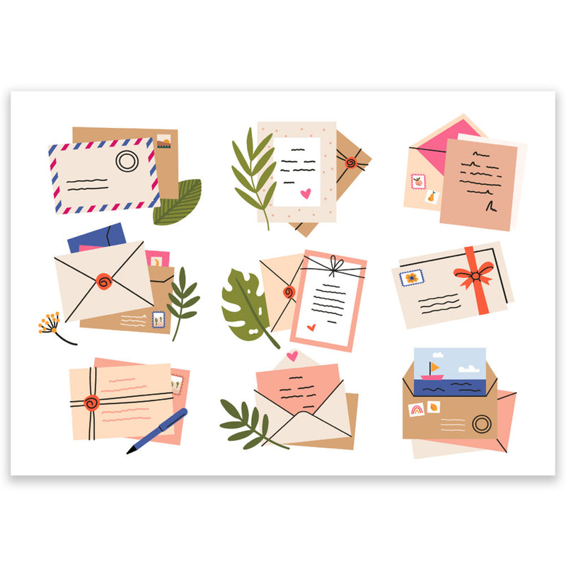 Envelopes Postcard