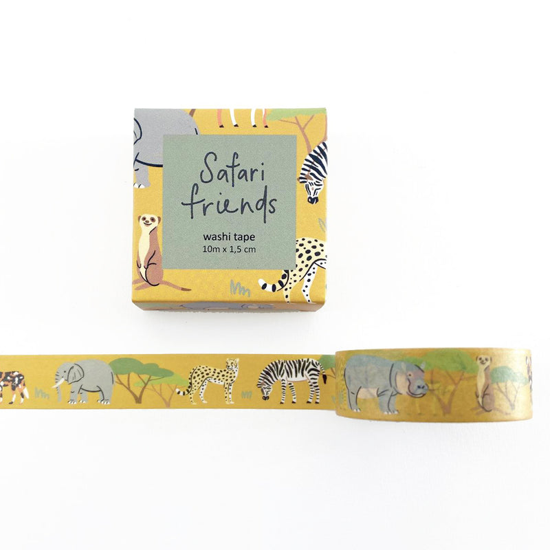 Safari Animals Washi Tape