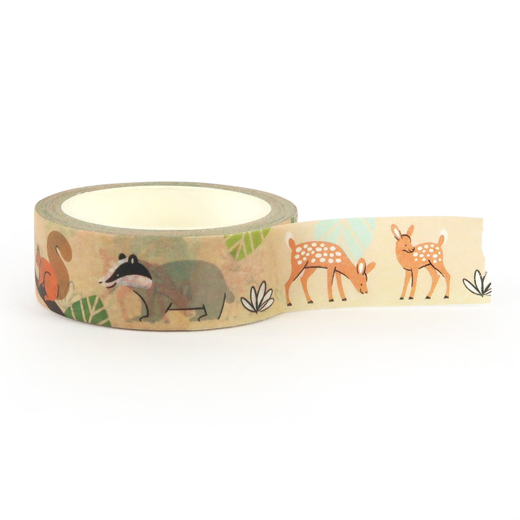 Woodland Animals Washi Tape - Little Lefty Lou