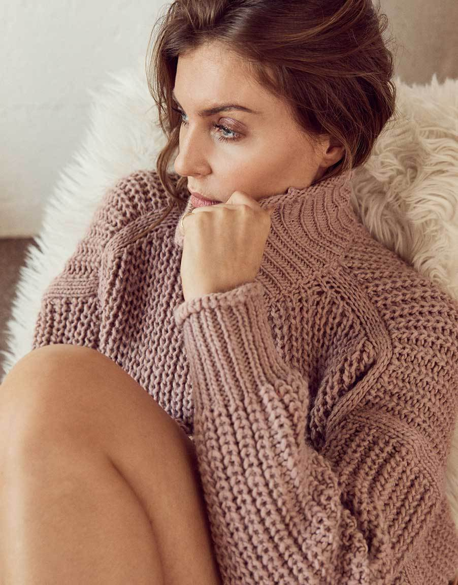 LEEYA | Pullover | misty rose