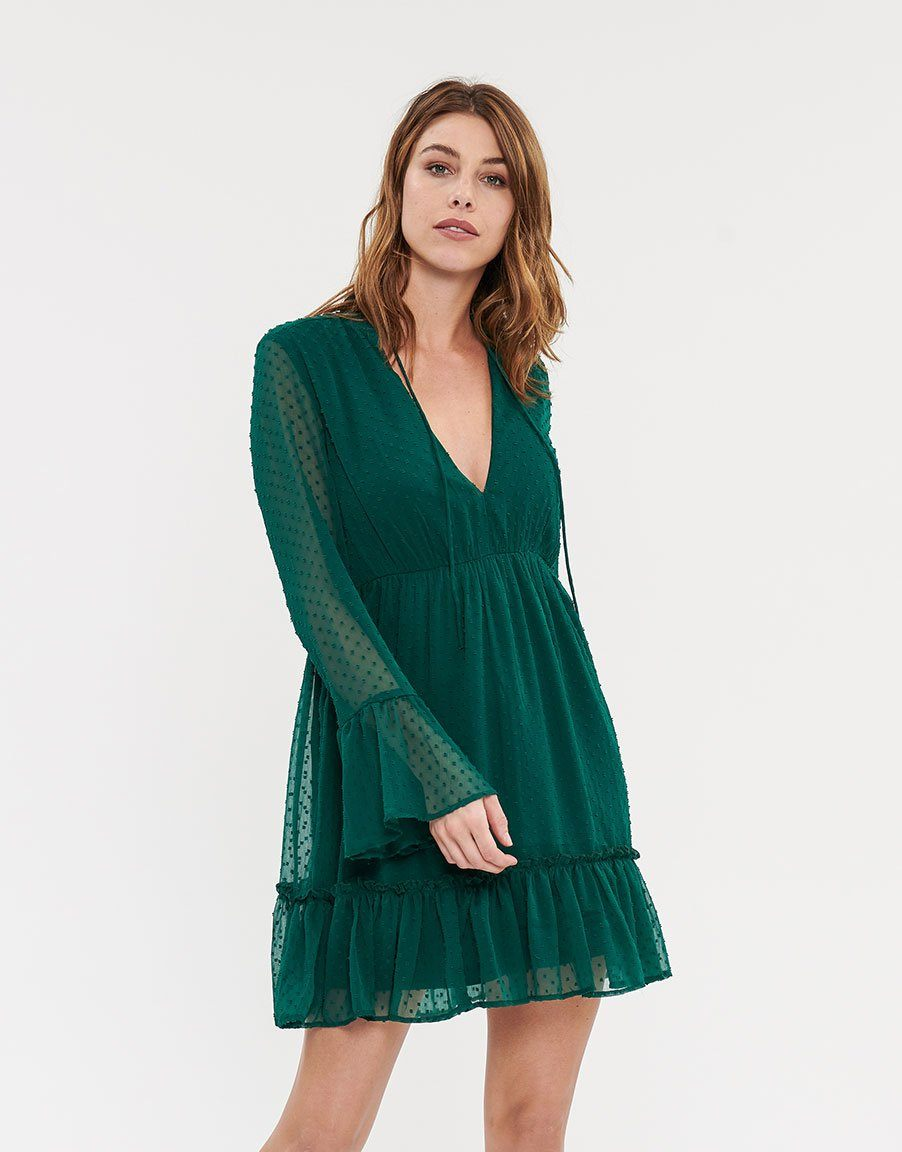 YADLEEN | Kleid | evergreen
