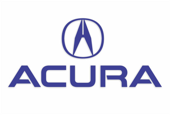 Acura Vinyl Decal
