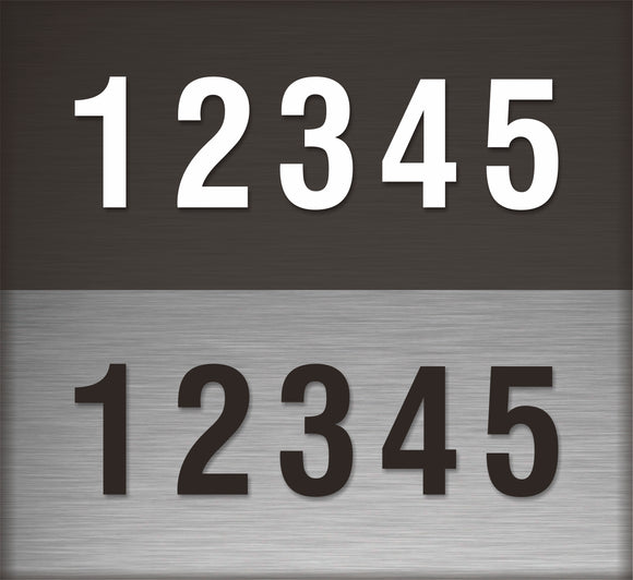 Decal / Custom: Address Lettering