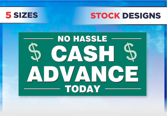 Banner / Quick Ship: Cash Advance