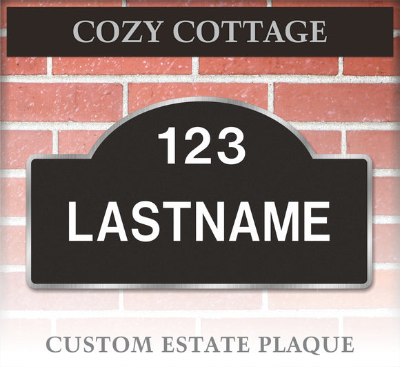 Plaque / Custom: Cozy Cottage