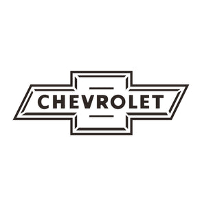 Chevrolet Bow Tie Decal