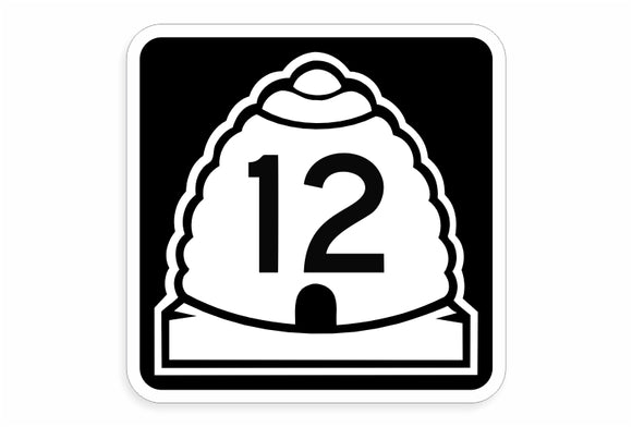 Highway 12 Decal