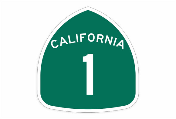 PCH Higway Decal Route 1