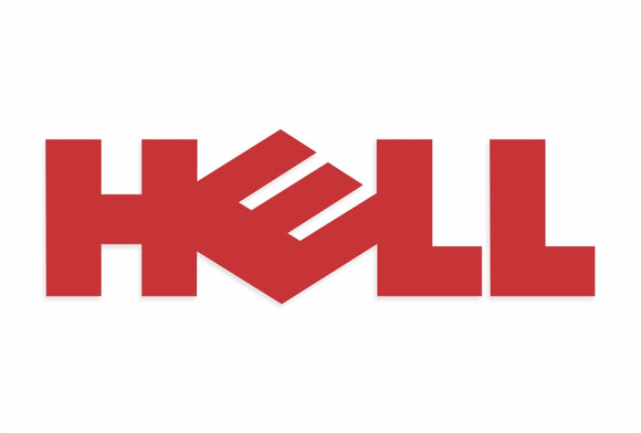 Hell Decal