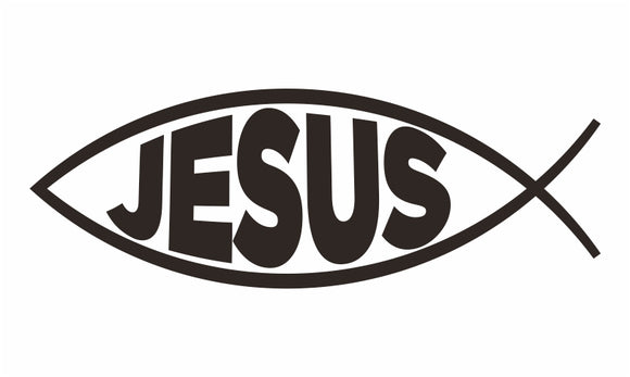 Decal / Freedom: Jesus Fish