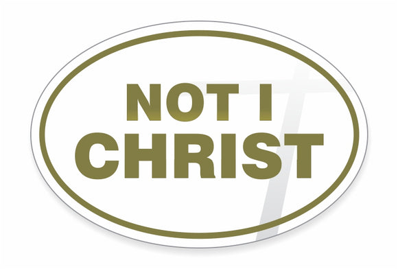 Decal / Freedom: Not I Christ