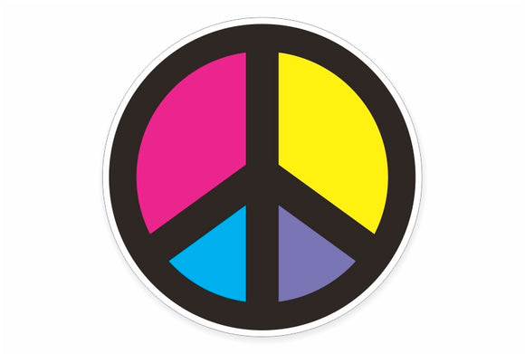 Peace Symbol Decals & Stickers