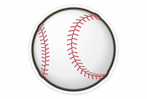 Baseball Sticker and Sports Equipment Decals