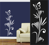 Wall Art / Natural Vibe: Sea Grass Butterfly