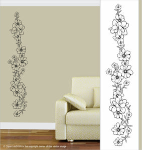 Wall Art / Natural Vibe: Floral Frieze