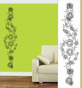 Wall Art / Natural Vibe: Floral Frieze 2