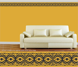 Wall Art / Tribalesk: Mexican Frieze