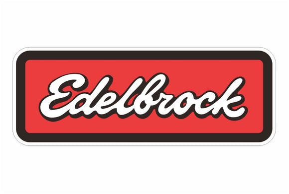 Edelbrock Decal